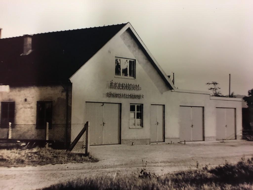 SÄDEBÄCKSGATAN AUGUSTI 1955